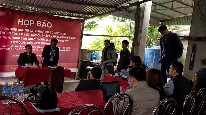 Công ty Luật TNHH Everest hỗ trợ pháp lý cho công dân Quảng Ninh đầu tiên tổ chức họp báo