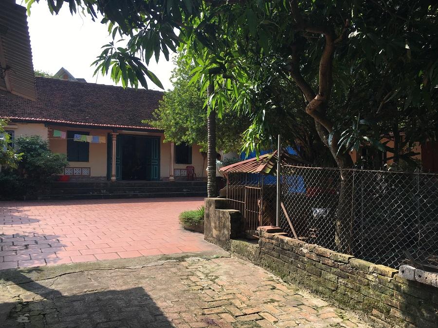 Căn nhà của hộ gia đình ông Nguyễn Đức Trụ - Vụ án Argibank Bắc Giang khởi kiện khách hàng