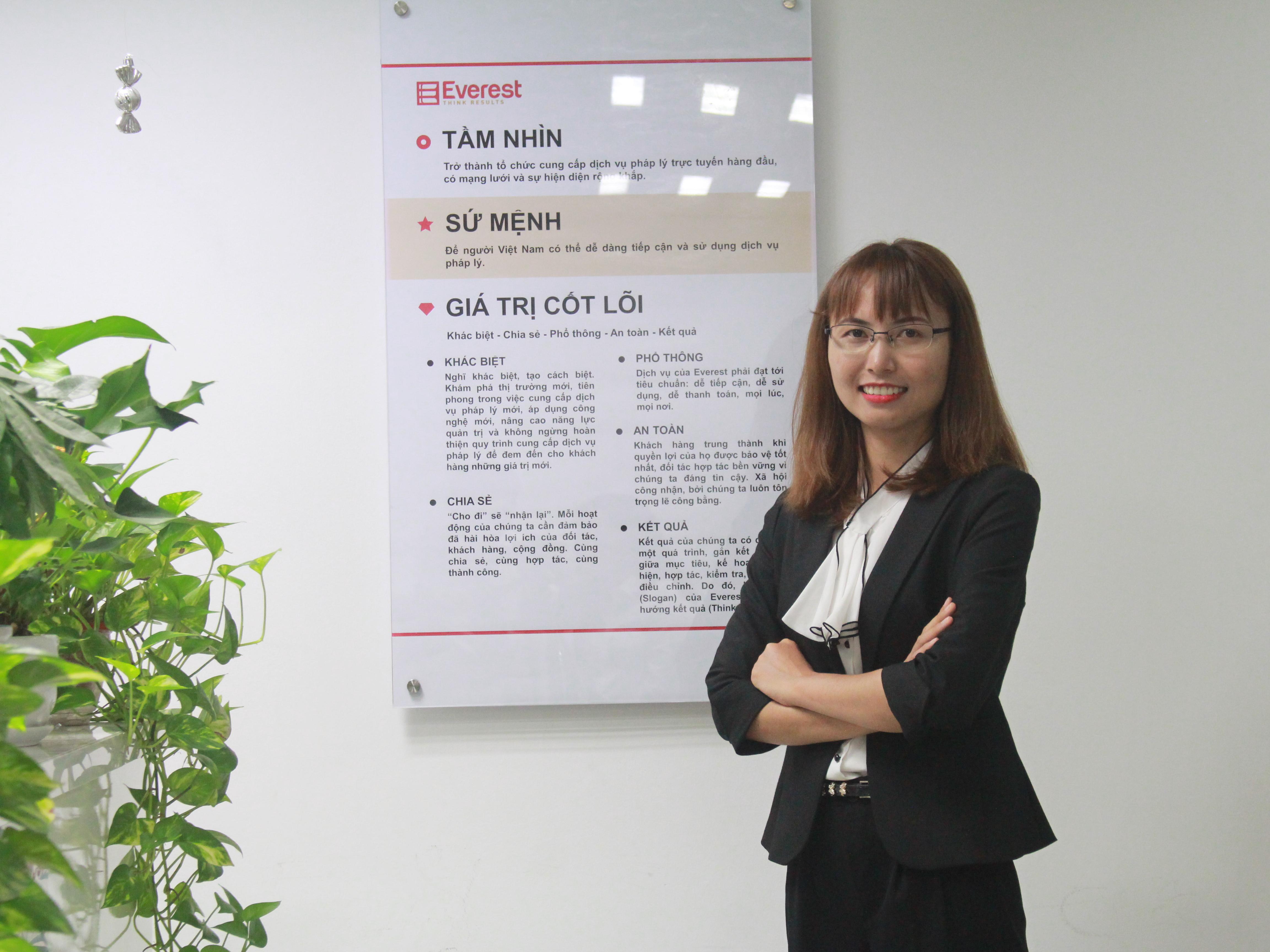 Luật sư Nguyễn Thị Yến - Công ty Luật TNHH Everest
