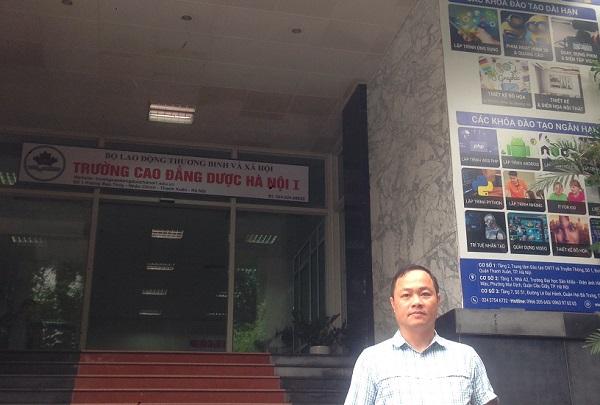 Cơ sở của Trường Cao đẳng Dược Hà Nội 1 bị báo Công luận 'nhầm' thành của Trường Cao đẳng Dược Hà Nội