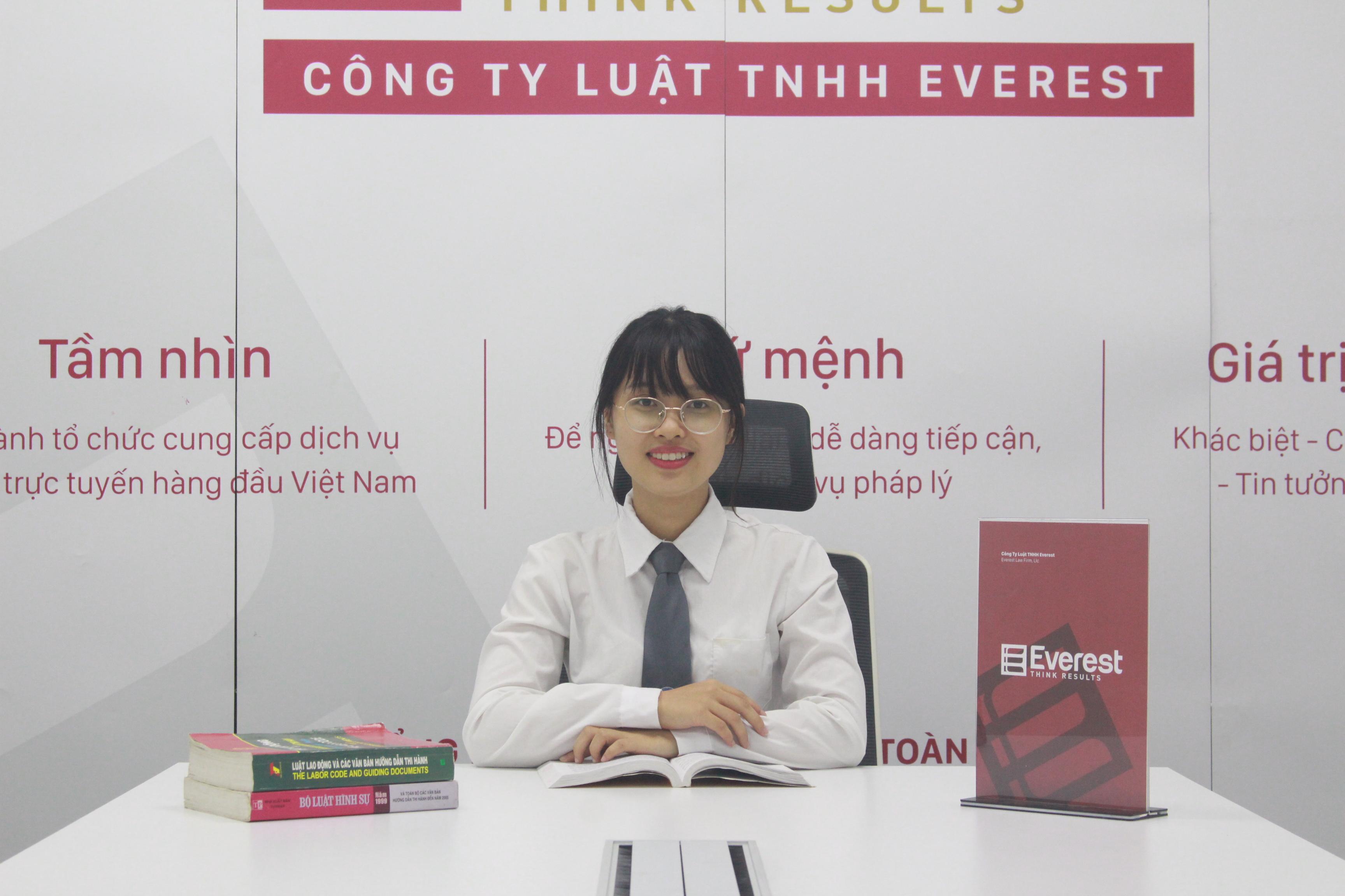 Luật gia Nguyễn Thị Hải Yến - Công ty Luật TNHH Everest