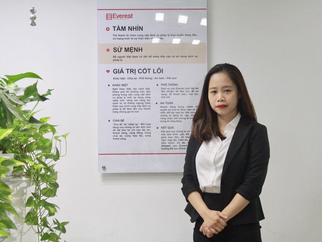 Luật sư Nguyễn Hoài Thương - Công ty Luật TNHH Everest - Tổng đài tư vấn (24/7): 1900 6198