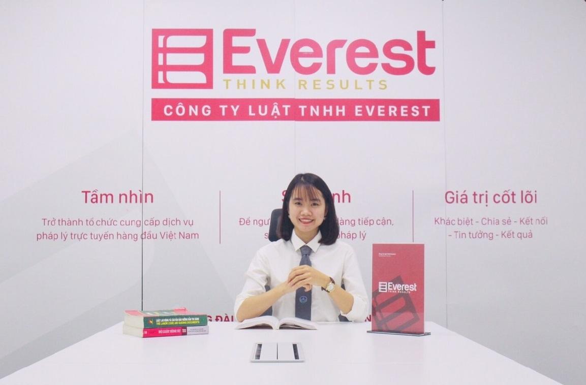 Luật sư Nguyễn Thị Yến - Công ty Luật TNHH Everest - Tổng đài tư vấn (24/7): 1900 6198