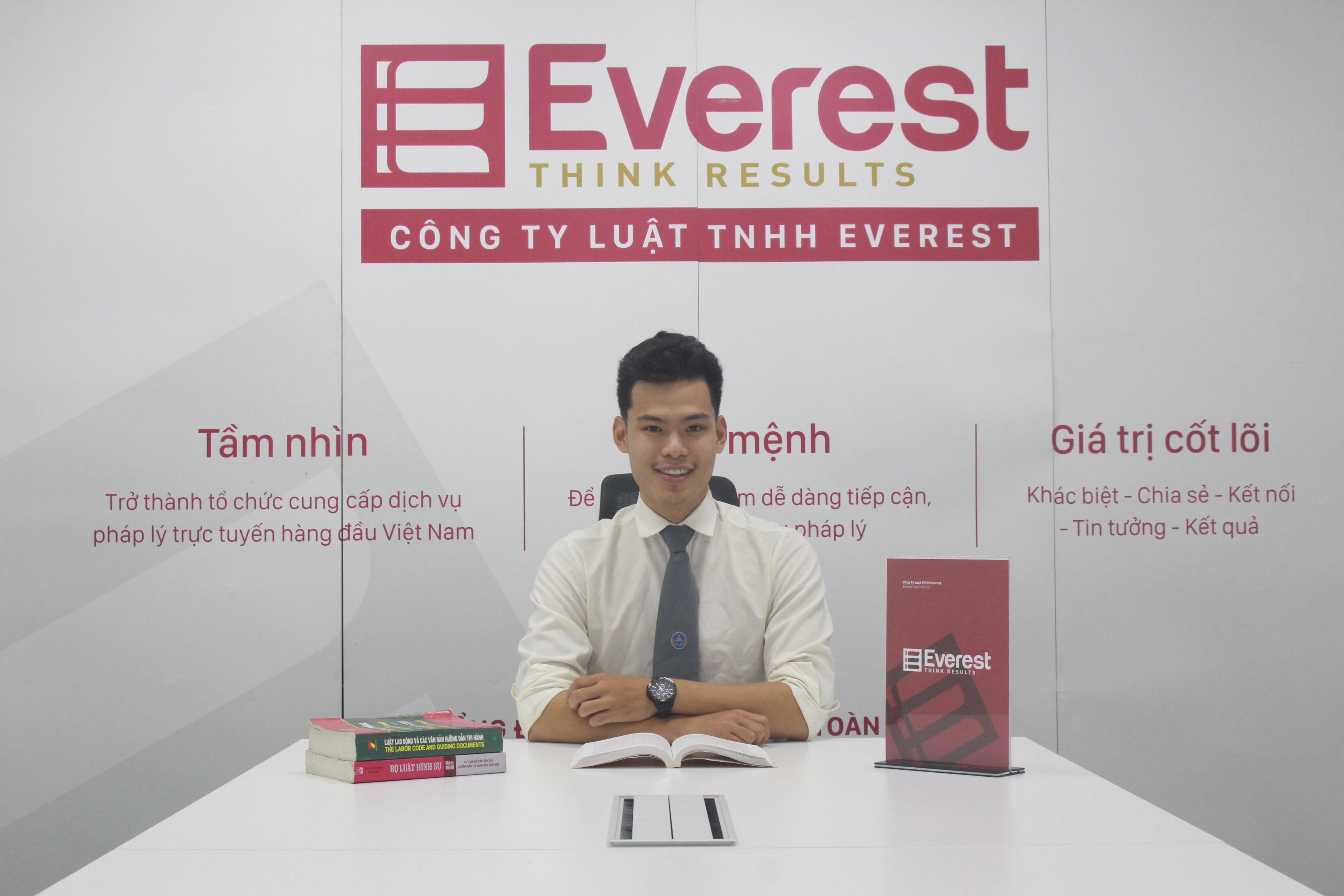 Luật gia Trần Minh Ngọc - Công ty Luật TNHH Everest - Tổng đài tư vấn (24/7): 1900 6198