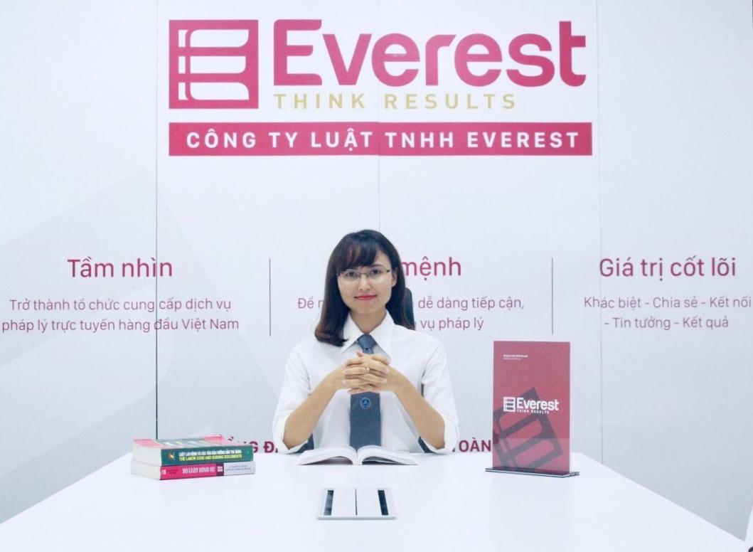 Luật sư Nguyễn Thị Yến - Công ty Luật TNHH Everest, Tổng đài (24/7): 1900 6198