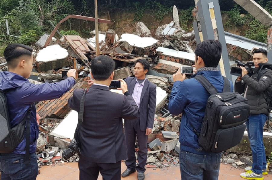 Ông Vũ Bá Quang tổ chức họp báo công khai những Điểm mờ của Dự án thu hồi đất sạt lở