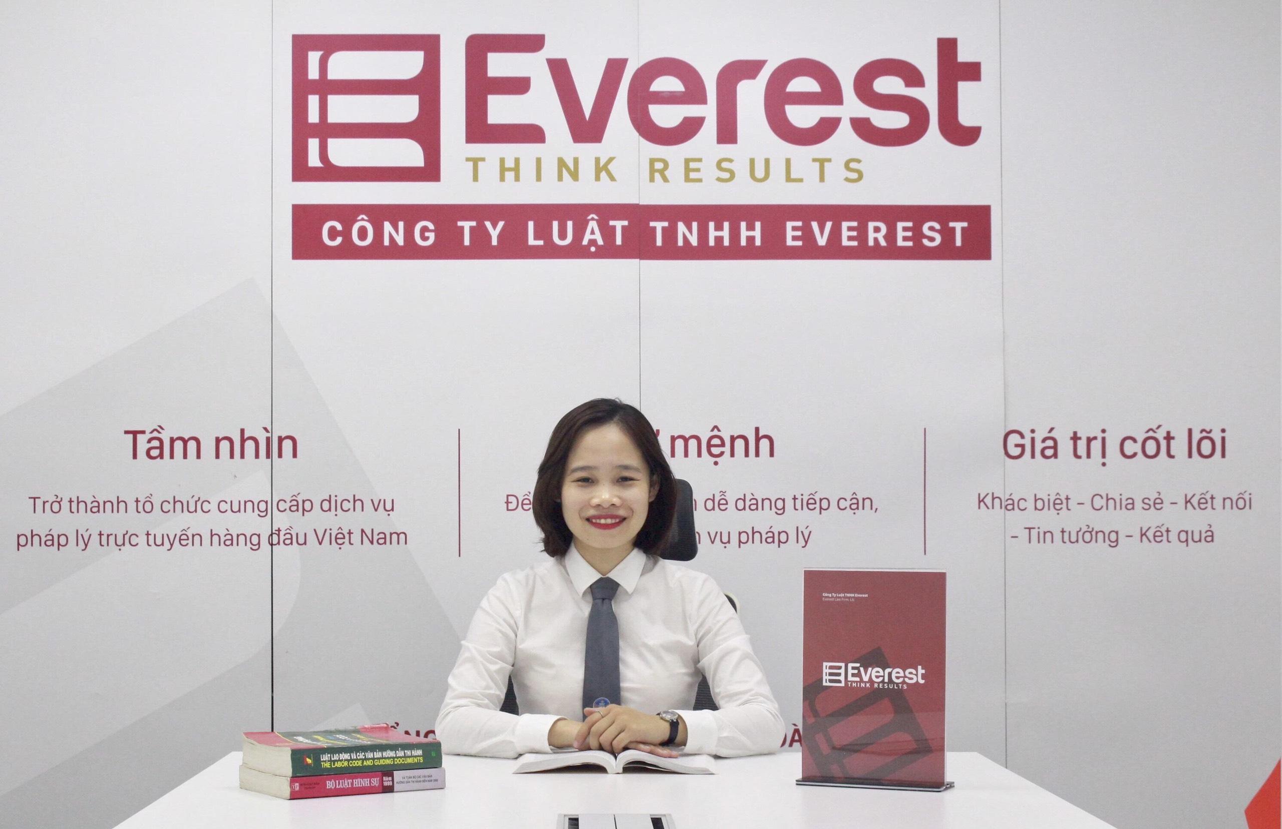 Luật sư Nguyễn Hoài Thương - Công ty Luật TNHH Everest - Tổng đài tư vấn (24/7): 19006198