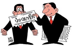 Có được ủy quyền để giao kết hợp đồng lao động với người lao động không?