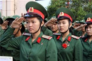 Công dân nữ có được phục vụ trong quân đội không?