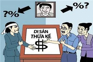 Chia di sản thừa kế theo quy định của Bộ luật dân sự ?