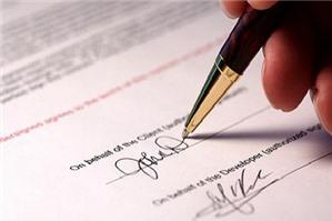 Hợp đồng ủy quyền mua bán của công ty mẹ - con