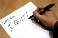 Tư vấn pháp luật: thời gian báo trước khi xin nghỉ việc