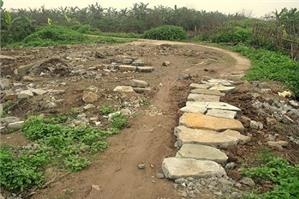 Sử dụng đất để khai thác nguyên liệu sản xuất vật liệu xây dựng