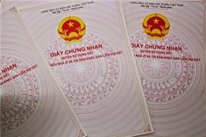 Cấp giấy chứng nhận quyền sử dụng đất cho người Việt Nam định cư ở nước ngoài