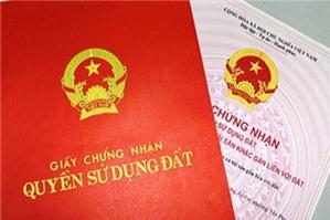 Thủ tục đăng ký đất đai lần đầu