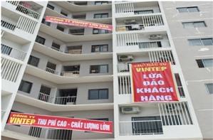 Happy Star Tower (Long Biên, Hà Nội): Cư dân yêu cầu Vintep Hà Nội bàn giao lại quyền quản lý